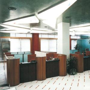 BANCONE RECEPTION per istituti bancari, assicurazioni