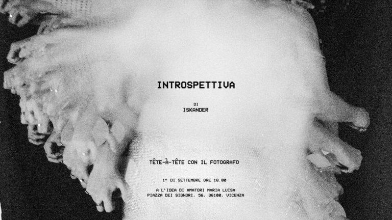 INSTROSPETTIVA - Alexander Dimitrios Papadopoulos 01/09/2018 18.00